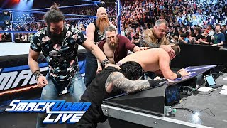 Shane McMahon & Elias trap Roman Reigns & The Miz: SmackDown LIVE, May 14, 2019