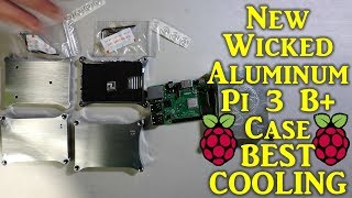 NEW Wicked Aluminum Pi 3 B PLUS Case -