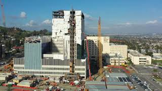 Loma Linda University Medical Center Construction Progress - March 2, 2019