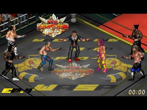 Fire Pro Wrestling World Presents WASP Ep.4: Champions vs Challengers