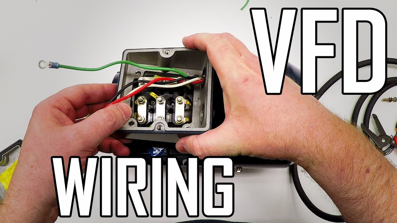 small resolution of lathe vfd 1 how to wire a 3 phase motor and vfd