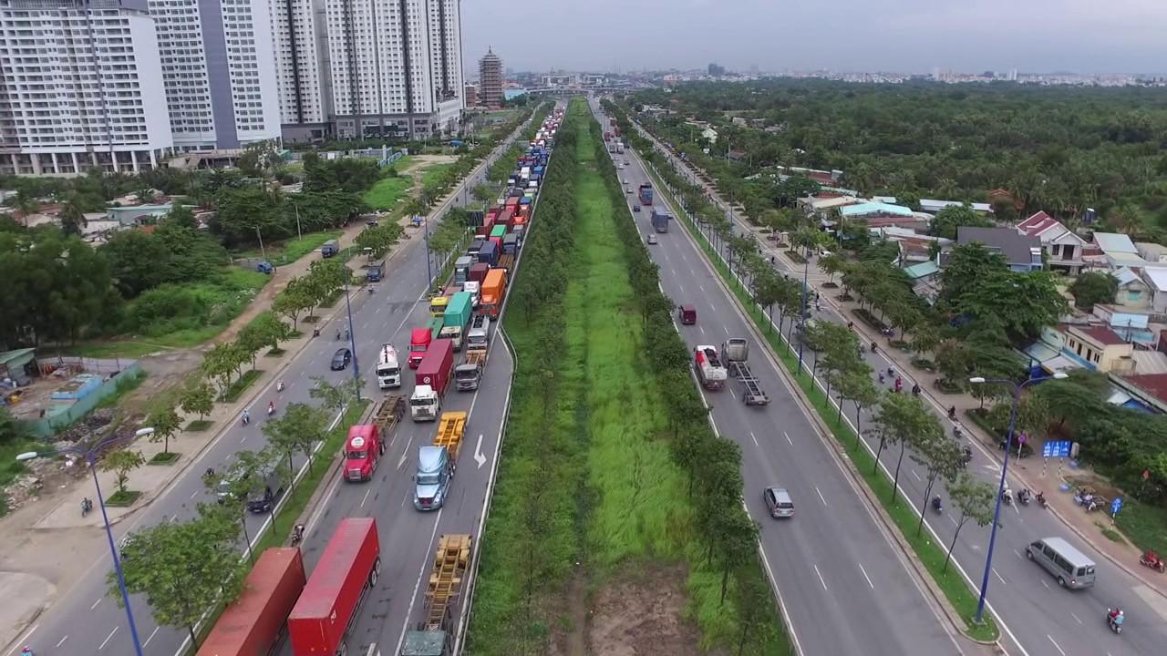 Đại lộ Mai Chí Thọ – Từ nút giao Nguyễn Thị Định tới chung cư Lexington