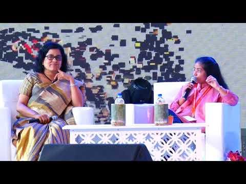 The Fight against Sex Slavery | P.E. Usha & Sunitha Krishnan | Kerala Literature Festival 2018
