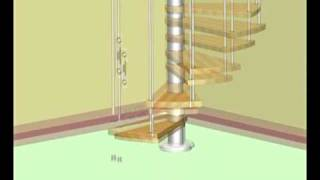 Fusion Spiral Staircase Installation Video from StairKits.co.uk