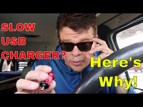 SLOW USB CAR CHARGER? Here's Why!