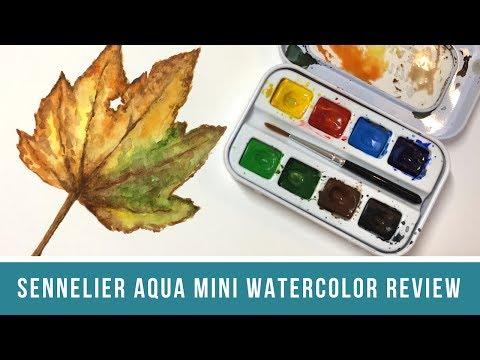 Sennelier Aqua-Mini Watercolor Review