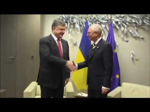 EU Chief Calls For Ukraine Federalization: Herman Van Rompuy will step down in coming weeks