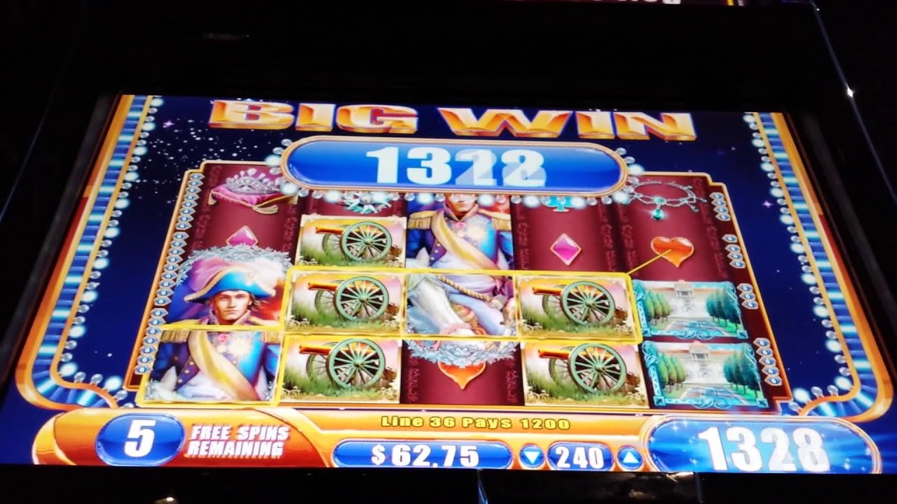 Napoleon slot machine