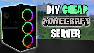 CHEAP Minecraft Server Computer   Step by Step Guide 2020