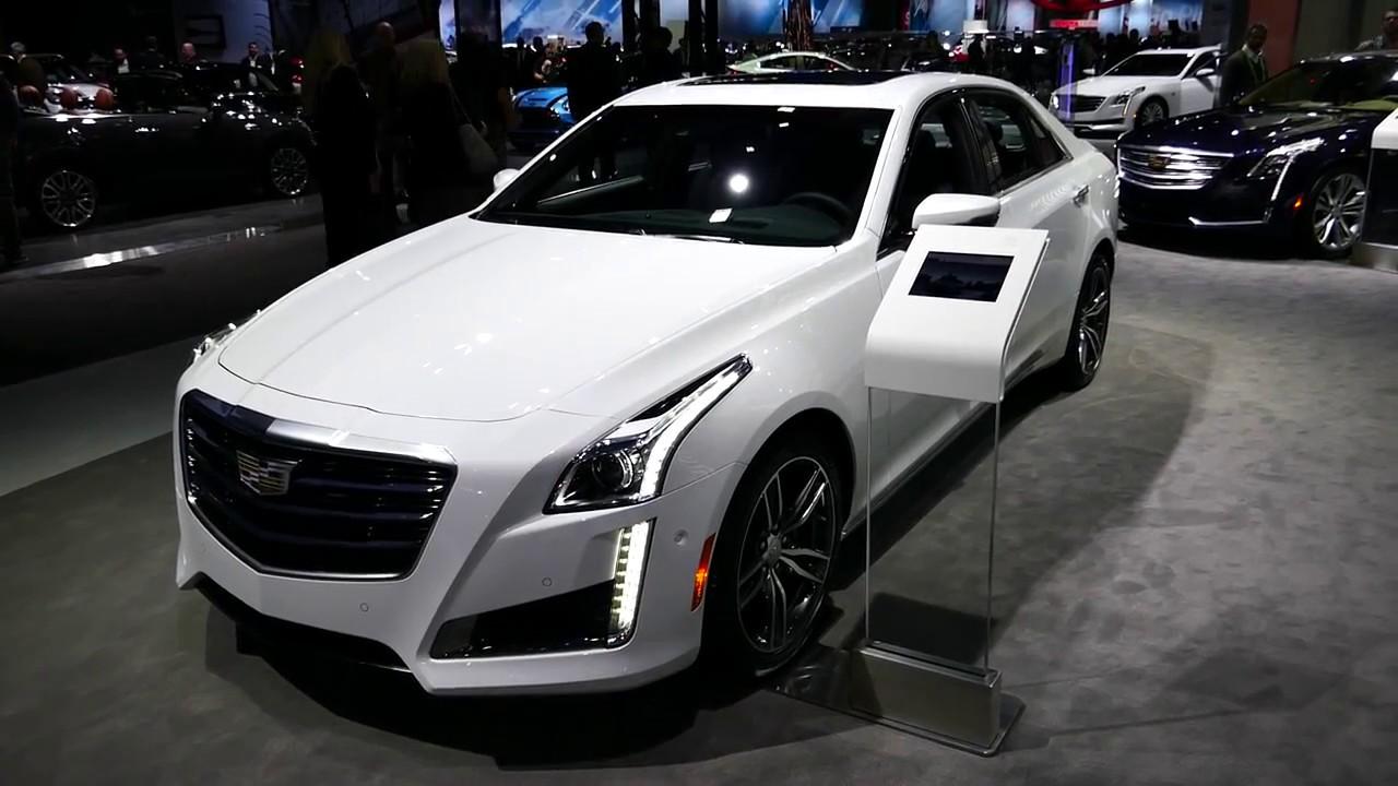 New 2018 Cadillac Cts V Sport Luxury Sedan Exterior Walk Around