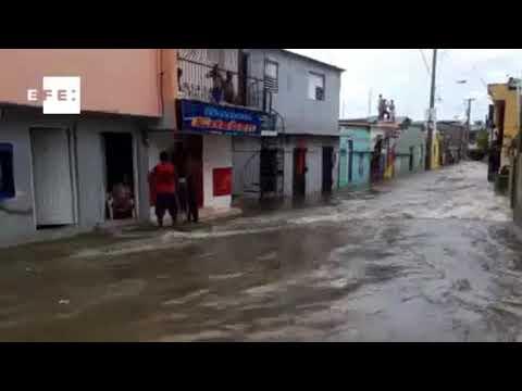 Dominican Republic hit by Hurricane Irma update