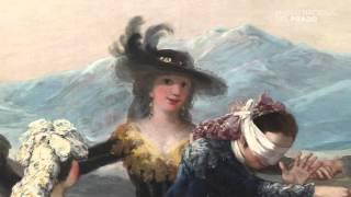 Restauración: La gallina ciega, de Francisco de Goya y Lucientes