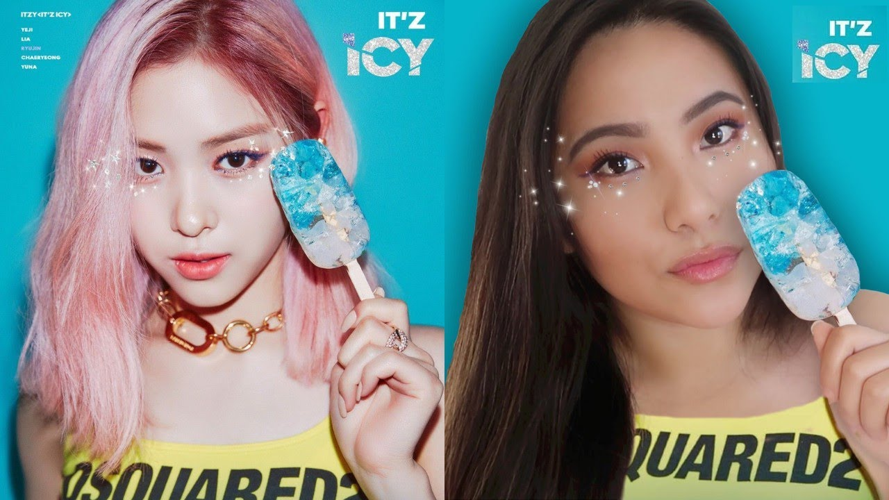 Itzy 믿지 Icy Ryujin M V Makeup Tutorial Giveaway