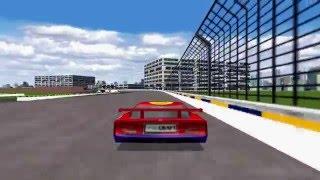 Viper Racing (PC Game 1998) - A lap in Dayton