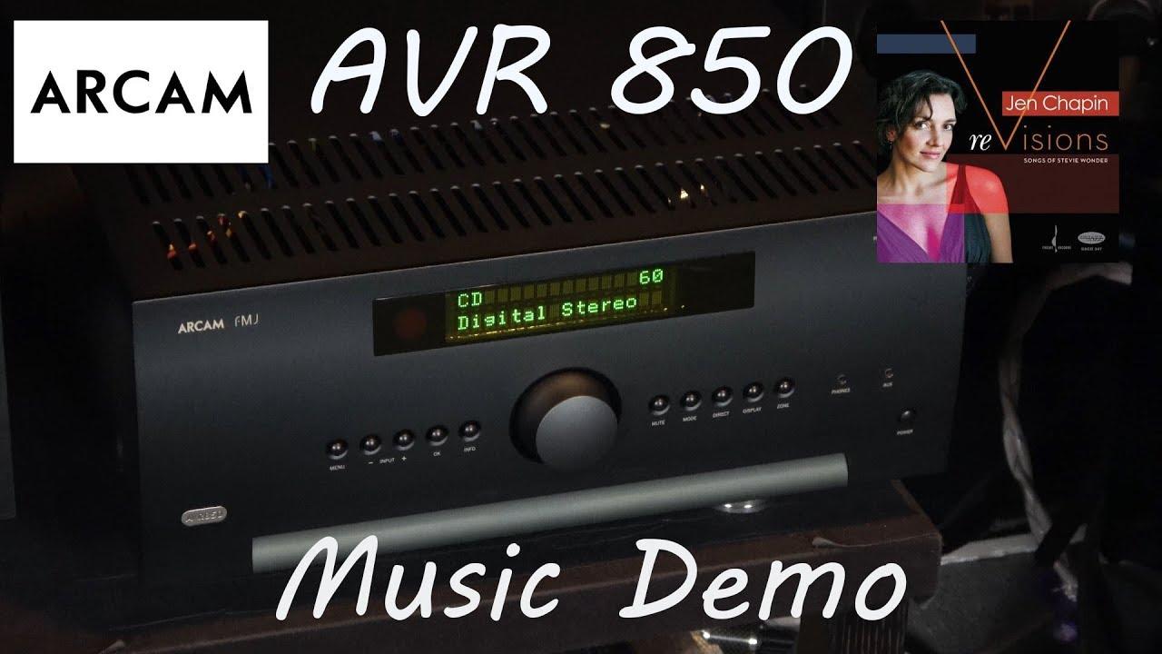 Arcam AVR 850 Review Music Demo - Jen Chapin Jammin Stevie Wonder Cover  Home Cinema AV Receiver
