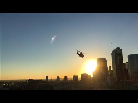 Ride Along With the L.A. Fire Department Helicopter Squad