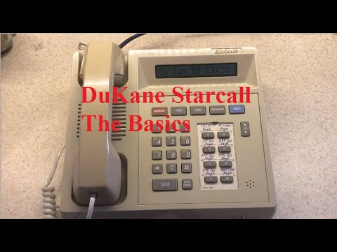 DuKane Starcall Intercom System -- The Basics