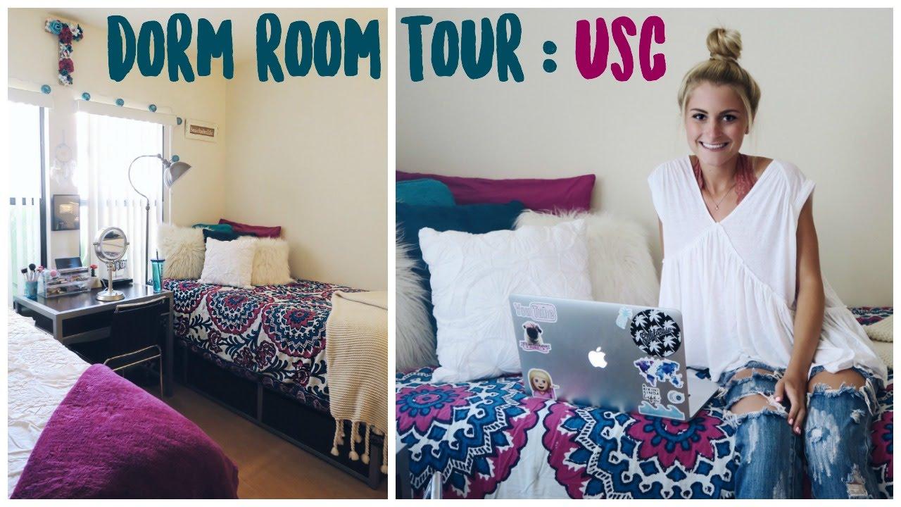 Pink Dorm Rooms