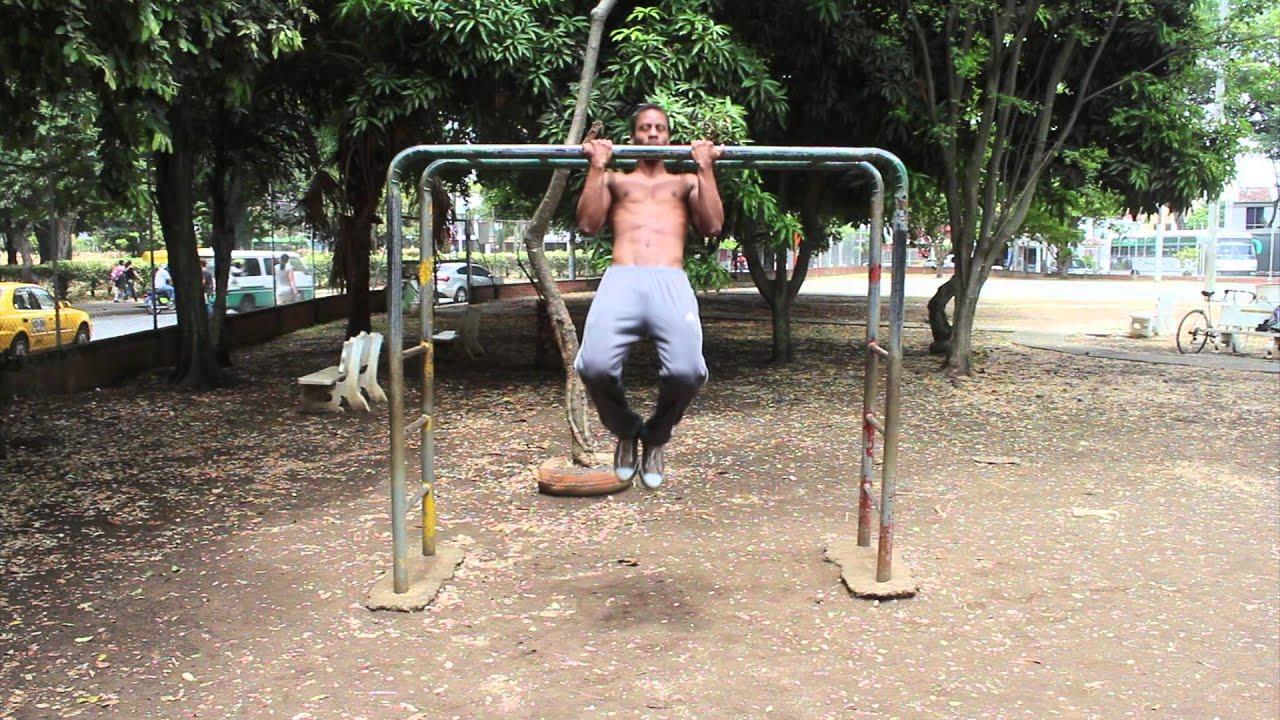 Rutina de ejercicios para brazo en barra hd youtube - Barras de ejercicio para casa ...