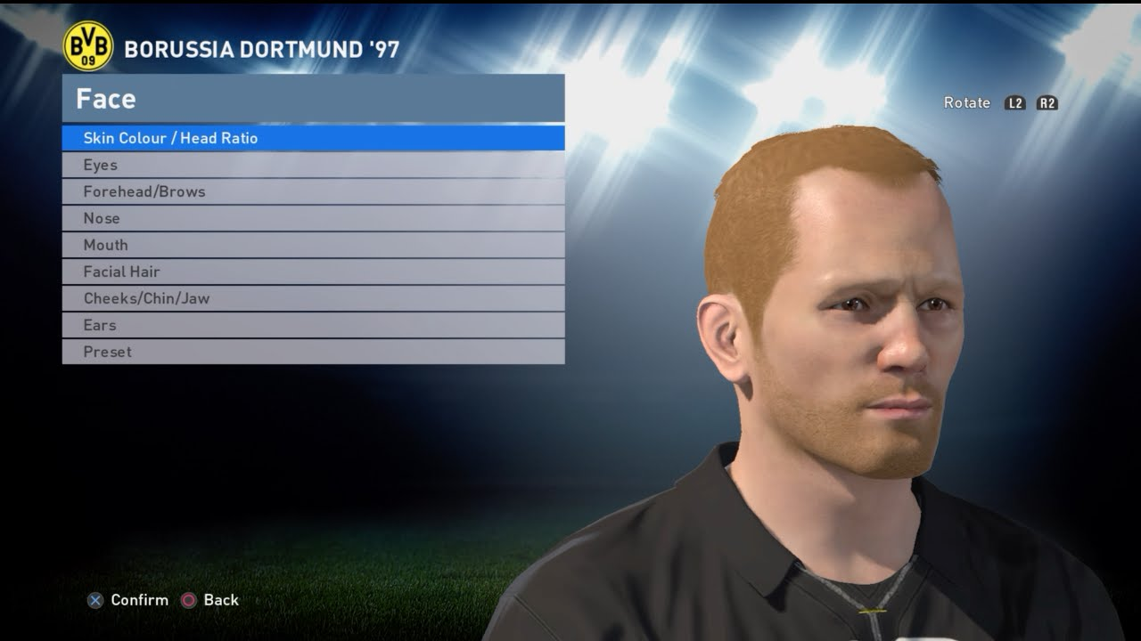 1 25] How to create BVB 97 in PES 2016 Face Build & Stats