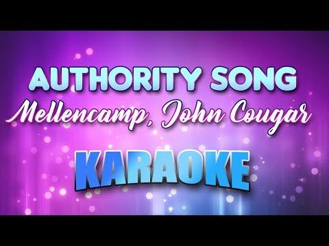 Mellencamp, John Cougar - Authority Song (Karaoke & Lyrics)