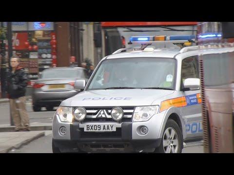 *RARE* Metropolitan Police Mitsubishi Shogun Marine Unit Responding