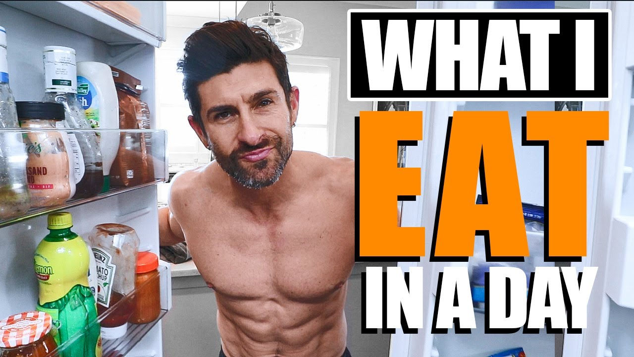 WHAT I EAT IN A DAY (My Daily Diet to be LEAN & MUSCULAR)