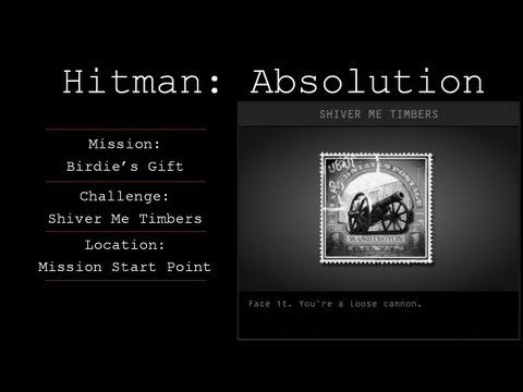 Hitman: Absolution Challenge Guide - Shiver Me Timbers - Mission 8