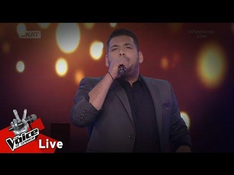 Γιάννης Κεσίδης - Απόγευμα θλιμμένο  2o   The Voice of Greece