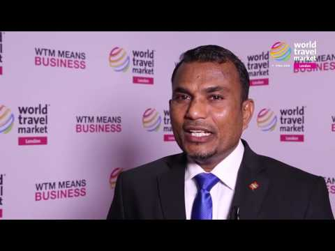 Mr Mohamed Haris, Maldives Marketing and Public Relations Corporation (MMPRC) at WTM London 2016