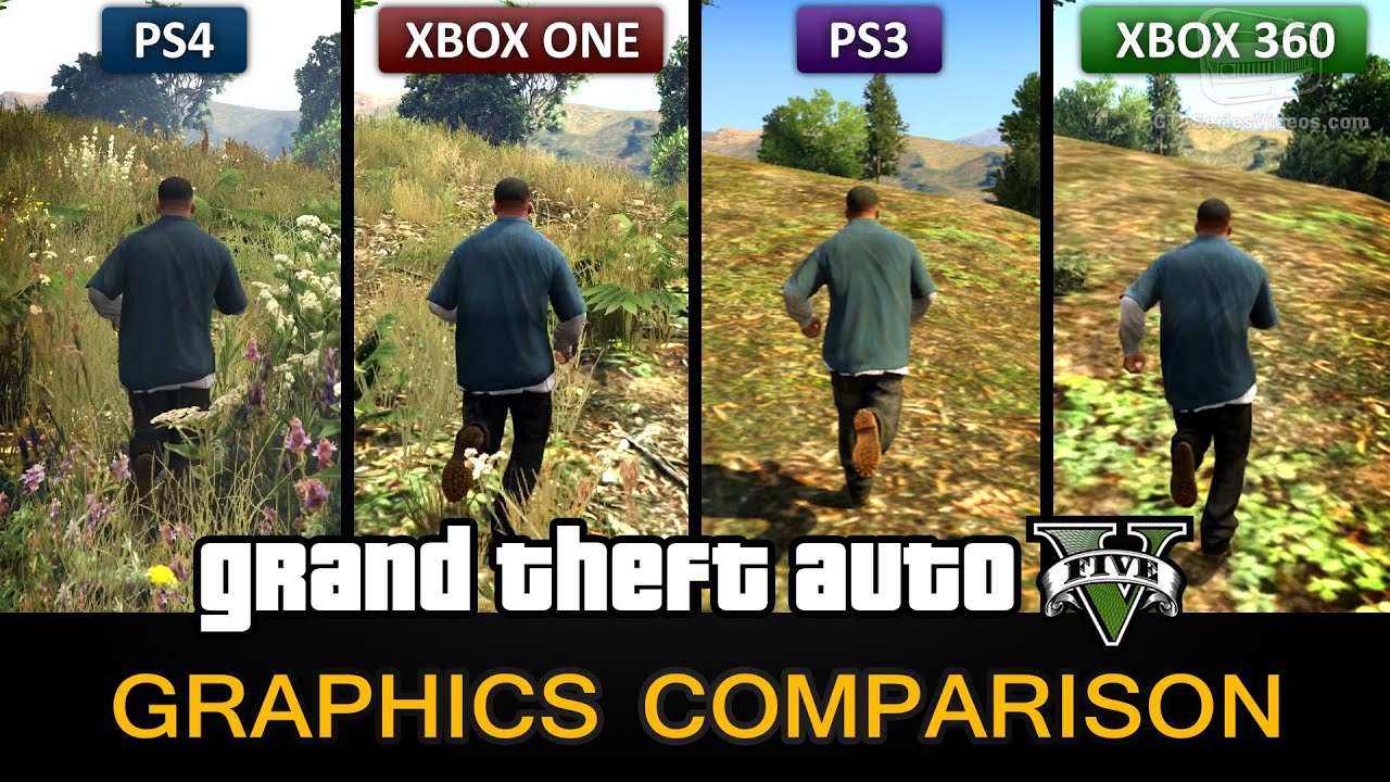 Xbox One Vs Ps4 Comparison Graphics