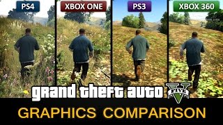 GTA 5 Graphics Comparison - PS4 / Xbox One / PS3 / Xbox 360(, 2014-11-24T12:37:37.000Z)