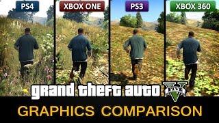 Gta 5 Graphics Comparison   Ps4 / Xbox One / Ps3 / Xbox 360