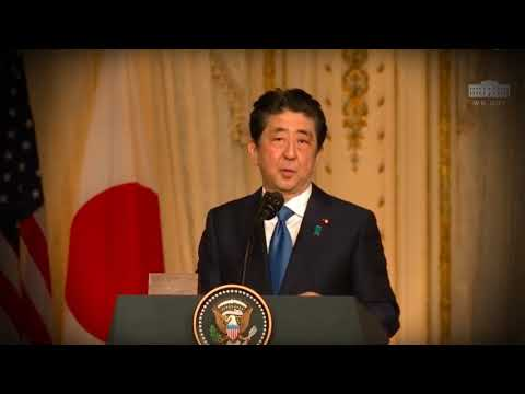 U S & Japan President Holds Joint Press Brief To Update Strategies On North Korea