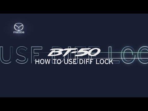 Diff Lock | New Look Mazda BT-50 2018