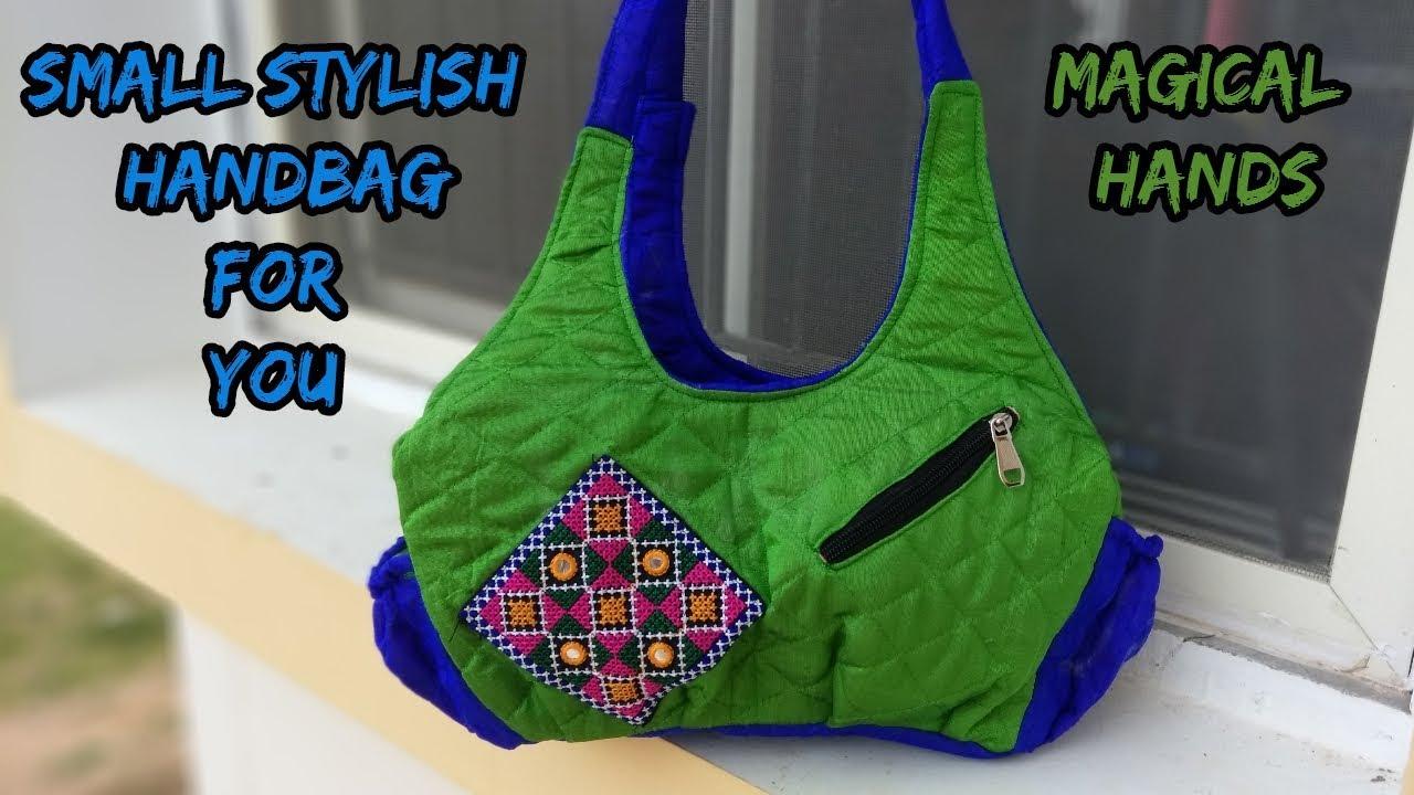a3a7c5a367fb small handbag make at home cutting and sewing how to make handbag  2018