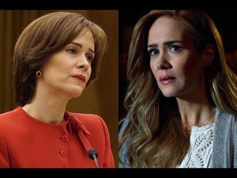 Watch Every Sarah Paulson Character Of 2016 Have A Conversation