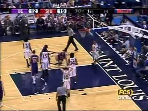 Southern Illinois vs. Evansville, MVC tournament, 2005
