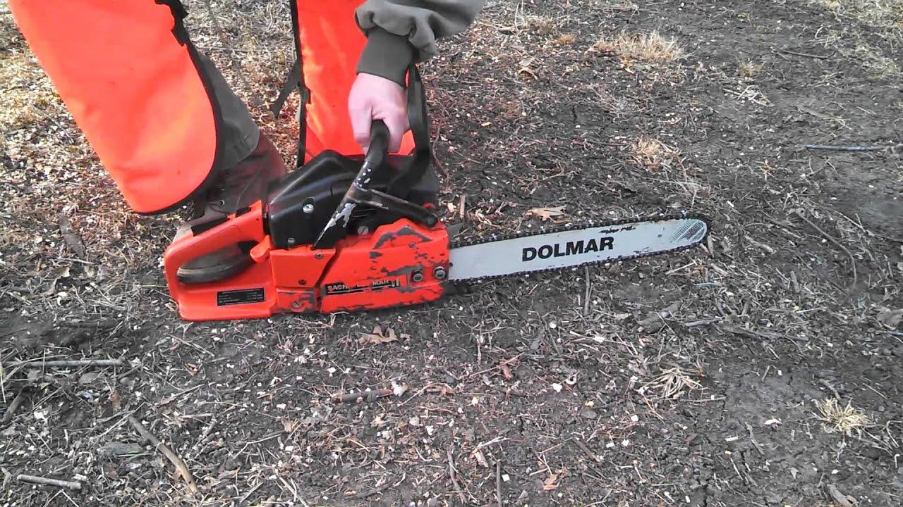 sachs dolmar 112 chainsaw manual best setting instruction guide u2022 rh ourk9 co Stihl Chainsaws Dolmar 100% Chainsaw