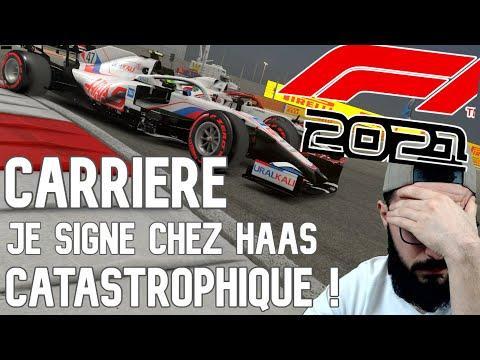 F1 2021   CARRIERE SOLO   JE SIGNE CHEZ HAAS ! CATASTROPHIQUE ! #1
