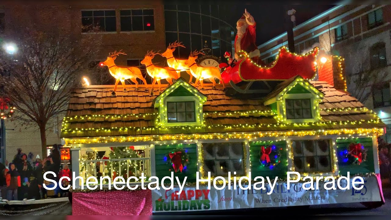 Small Town in USA:  Schenectady Holiday Parade  2019