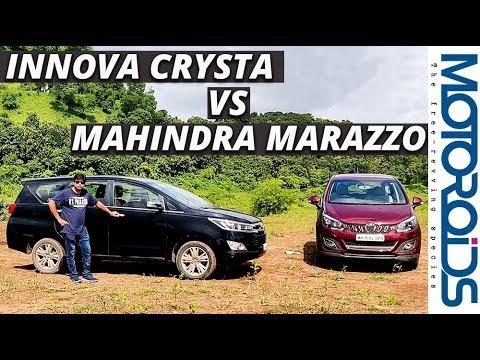 Mahindra Marazzo Vs Toyota Innova Crysta A Worthy Rival