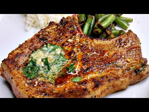 Quick & Easy Garlic Butter Pork Chops Recipe