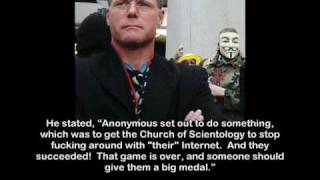 Jason Beghe Encourages Anonymous to Remove Masks