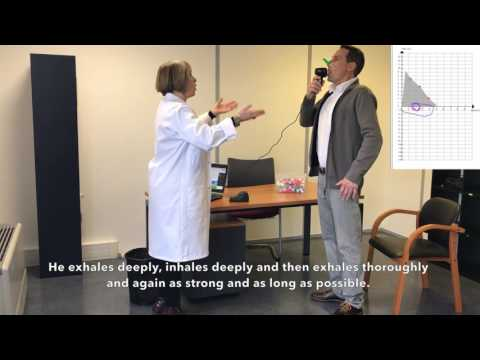Forced Vital Capacity Test - Spirometry
