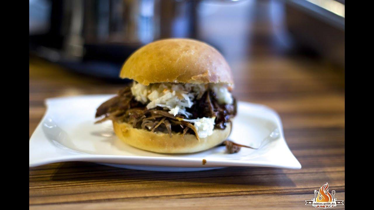 Pulled Pork Gasgrill Texas : Pp pulled pork aus der wildschweinkeule wild boar pulled pork