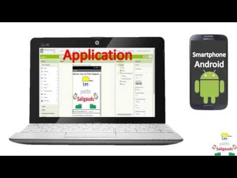 Faire une application sur Smartphone Android GRATUITEMENT (App Inventor) (www.saligaud.com)