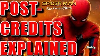 Spider-Man: Far From Home Ending and Post Credit Scenes Explained | Tom Holland 2019