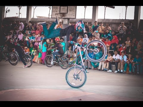 BEST CYCLE STUNT SHOW IN BANGLADESH