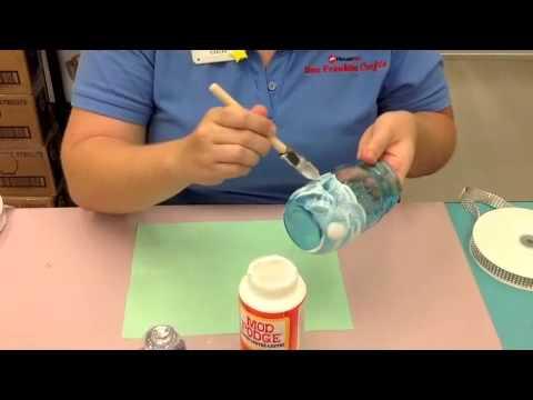Crankin Out Crafts Ep367 Glitter Mason Jar Frozen Theme Youtube